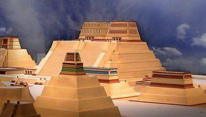 Mexico-Tenochtítlan, the great city constructed by the mexican architects, mathematics, etc in 1325.